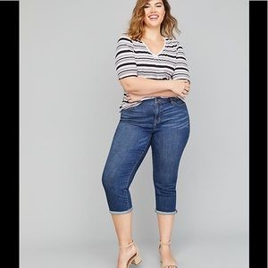 Lane Bryant Girlfriend Crop 24